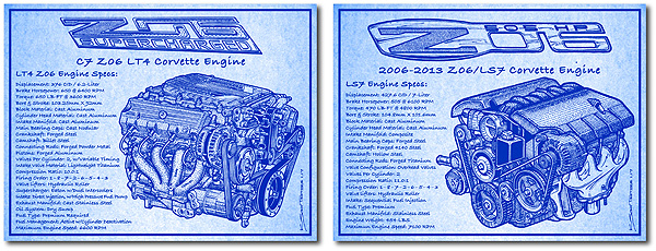 The grand debut of new corvette engine blueprint series malvernweather Image collections