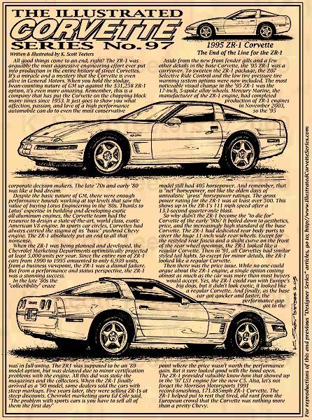 ZR-1 Corvette History – C4 1990-1991 ZR-1 Corvette: Part 2