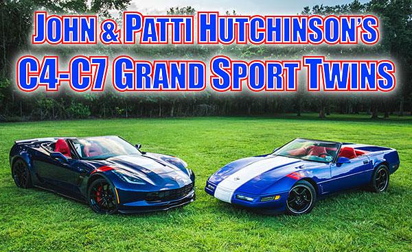 John & Patti Hutchinson's 1996 & 2017 Grand Sport Twins
