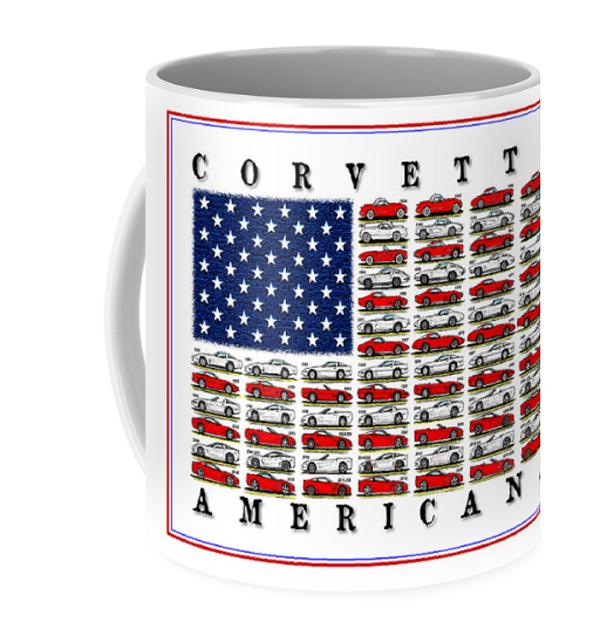 Corvette Americana Mug