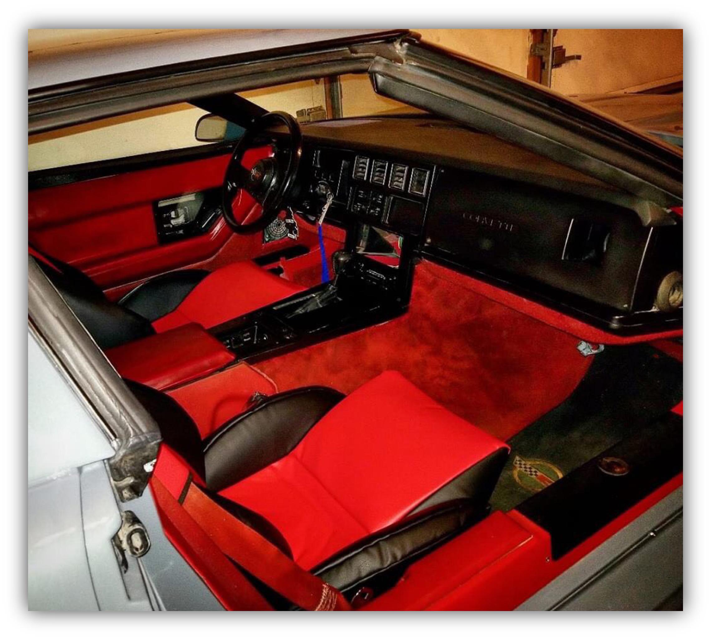 Dean Kaliakmanis 1986 Corvette