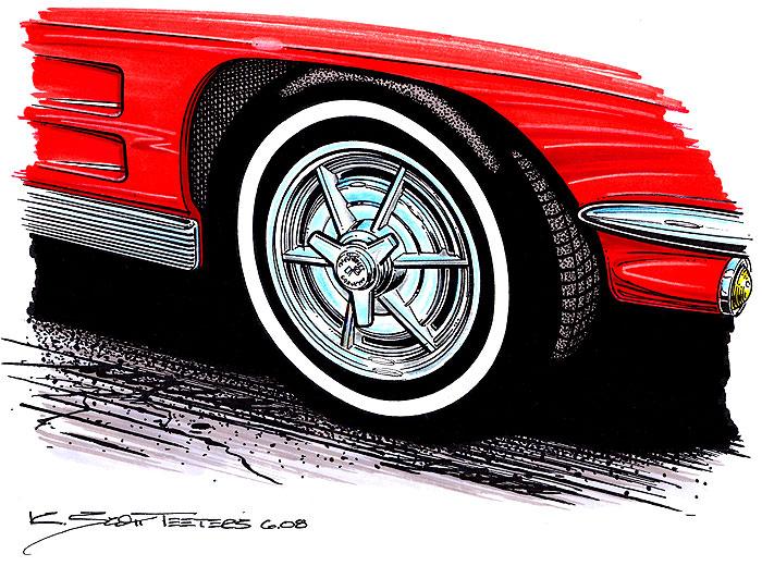 Corvette Wheels Pt 1 Of 3 1953 To 1967