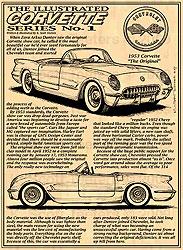 1953 Corvette Story
