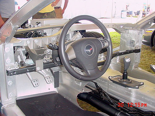 The Steering Wheel and Cow Bracing