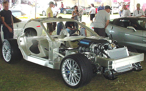 3/4 View of this amazing chassis!