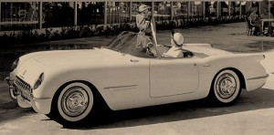 In 1953 there was NOTHING like the new Corvette!