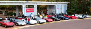 Corvettes in Glasstown photo by Cliff Shields