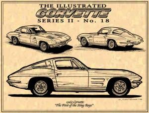 63 Split Window Sting Ray Corvette by K. Scott Teeters