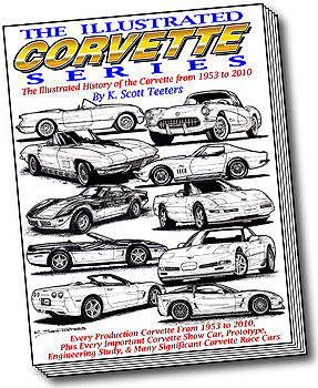 The Illustrated Book Series Cover to feature new Color Art by Corvette Artist, K. Scott Teeters