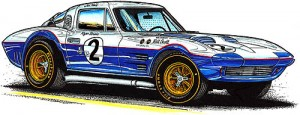 Roger Penske's 1963 Grand Sport Coupe #005