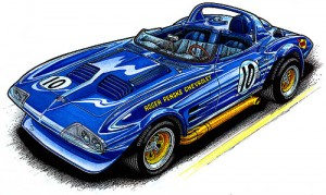 Roger Penske's 1963 Grand Sport Roadster #001