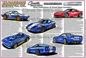 The Illustrated Corvette Series #150 as it Appeared in the Dec 2009 Vette issue.