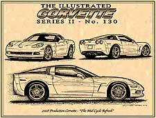 2008 Production Corvette by K. Scott Teeters
