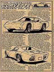 Illustrated Corvette Series No. 42 by K. Scott Teeters