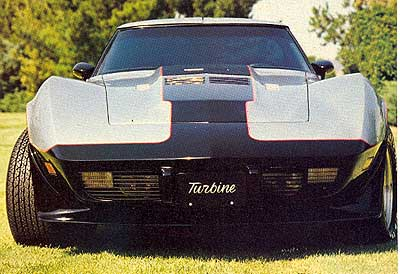 1978 Turbine Powered Corvette