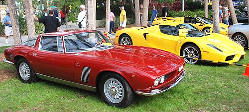 Iso Grifo and Late Model Ferrari